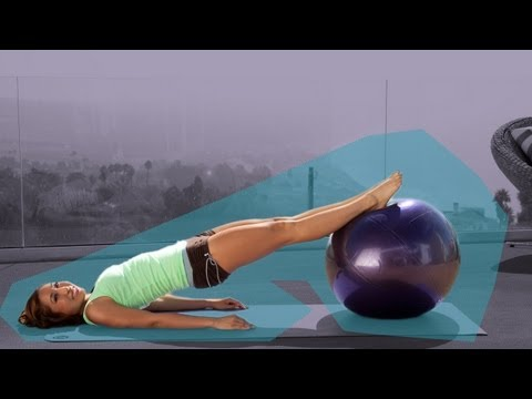 Bombastic Booty Pilates Workout on the Ball | Pilates Bootcamp With Cassey Ho