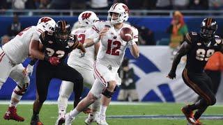 2017 Wisconsin Badgers Football Highlights