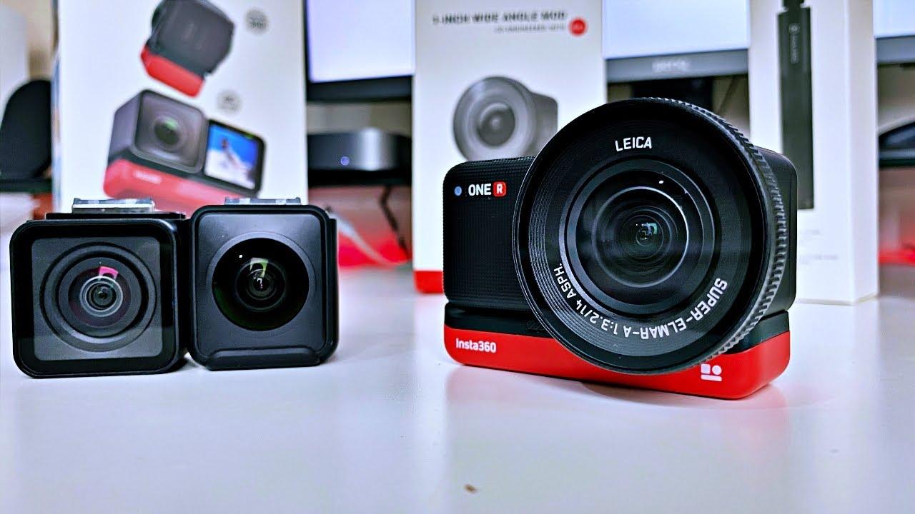 Insta360 One R - Alternative to GoPro Hero 9 - 5K Action Camera | Leica Lens | - Still Worth buying?
