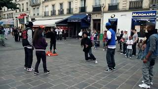 STREET BATTLE Les Twins VS. Bones The Machine+Pee Fly VS