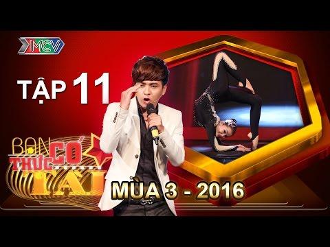 BẠN CÓ THỰC TÀI | Mùa 3 - Tập 11 | Hồ Quang Hiếu lần đầu tiên ngồi ghế nóng | 06/06/2016
