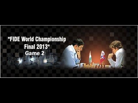 Viswanthan Anand vs Magnus Carlsen | FIDE World Chess Championship - Game 2