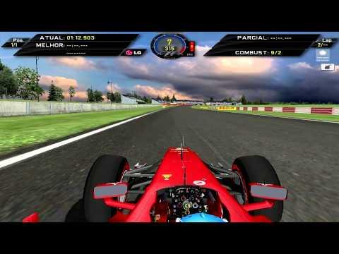 [F1C] Scuderia Ferrari F2012 @Silverstone with Fernando Alonso [HD]