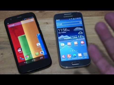 Moto G Vs Galaxy S4 Mini en español (MX)