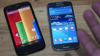 Moto G Vs Galaxy S4 Mini En Español (MX)