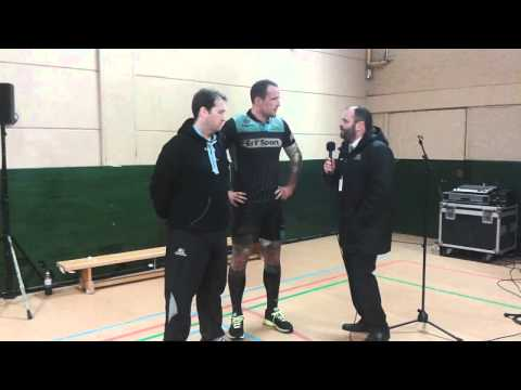 Post game Glasgow Warriors v Connacht