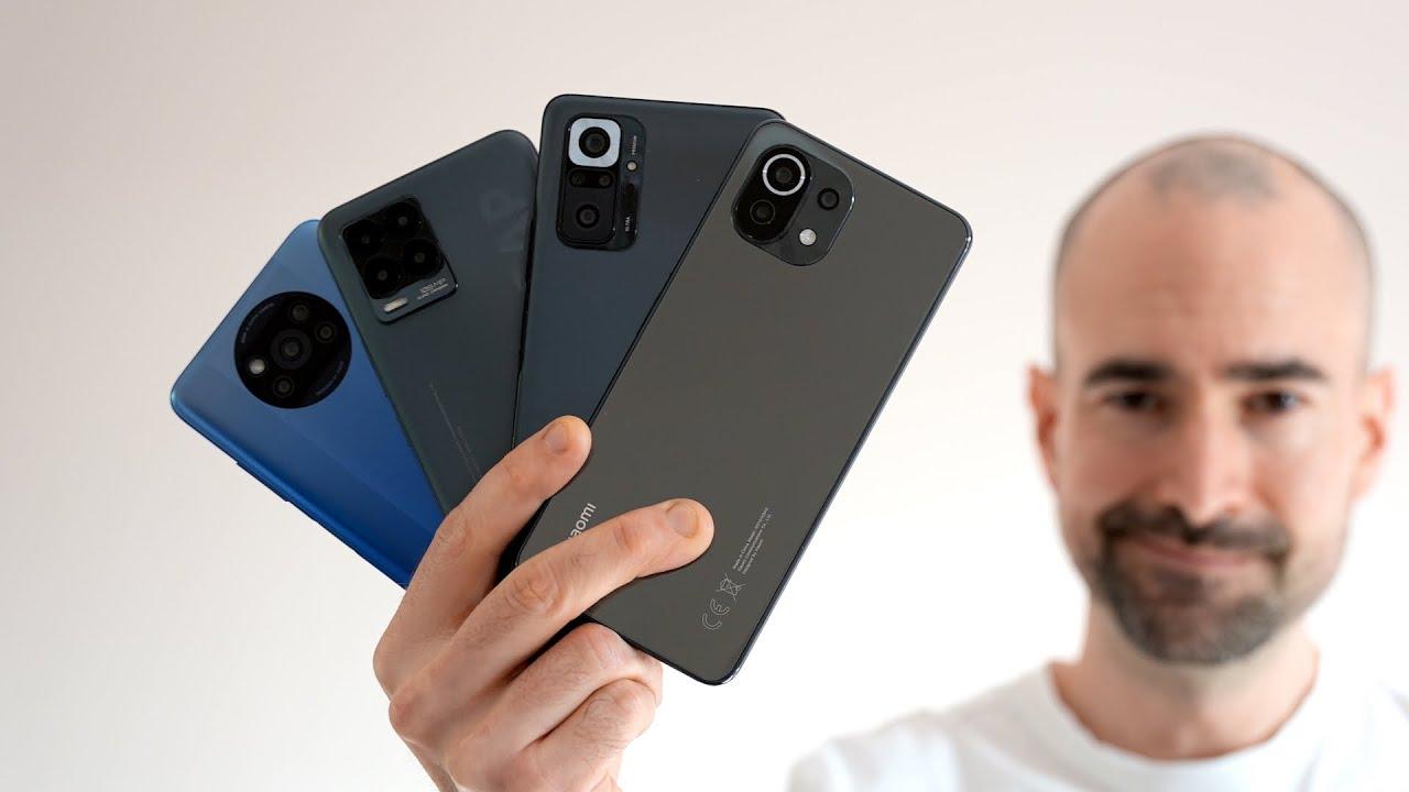 Poco X3 Pro vs Mi 11 Lite vs Redmi Note 10 Pro vs Realme 8 Pro | Best Budget Phones 2021 Compared!