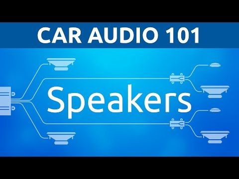 Car Audio 101: Speakers