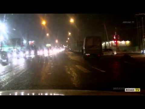 Авария на Окружное шоссе