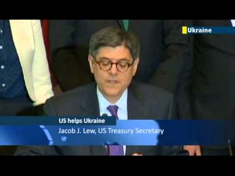 Jacob Lew signs USD 1 billion agreement with Ukraine