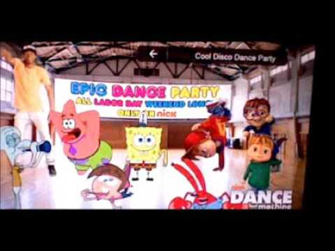 Nickelodeon Dance Party with SpongeBob and Friends