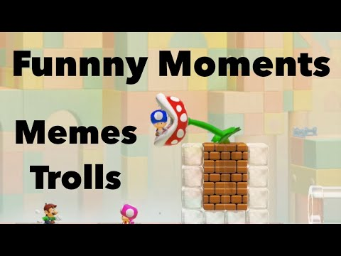 Funny Moments in Mario Maker 2 | Trolling, Memes, Clutches and More