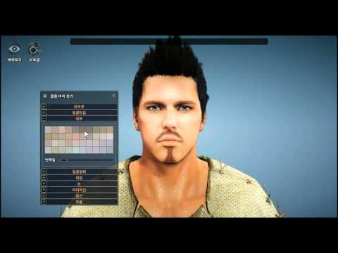 Black Desert Closed Beta 2: Warrior Customization