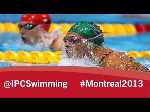 2013 IPC Swimming World Championships Montreal, Friday 16 August, evening session