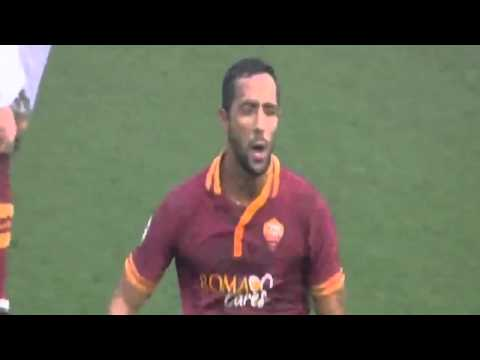 Mehdi Benatia Goal   AS Roma vs Catania 1 0 Serie A 22 12 2013 HD