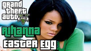 GTA 5 Easter Egg: Rihanna Character Model (GTA V)
