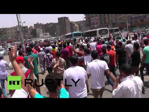 Egypt: Police tear gas Gaza solidarity protesters in Cairo