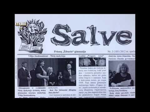 """ETERIS TV 2013.12.10 """"Žiburio"""" gimnazijoje vyko konferencija """"Mokyklos laikraštis rašo"""""""