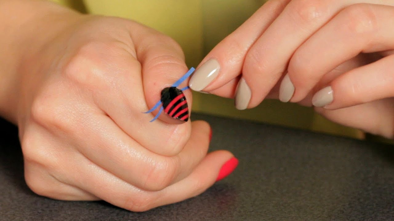 Nail Designs You Can Do With Tape | Nail Art Designs