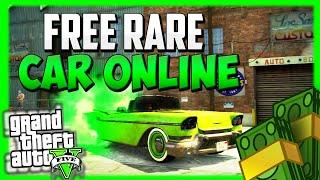 GTA 5 Rare Cars *FREE* Extremely RARE Car Spawn Location