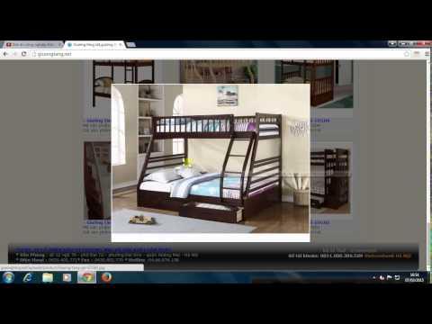 Giường tầng sắt - giường tầng gỗ giá rẻ