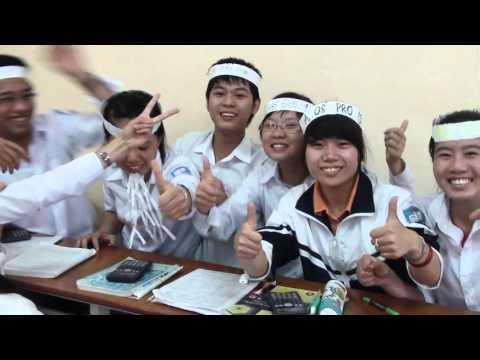Chia Tay A2 THPT Quỳnh Côi P2   HD1080p