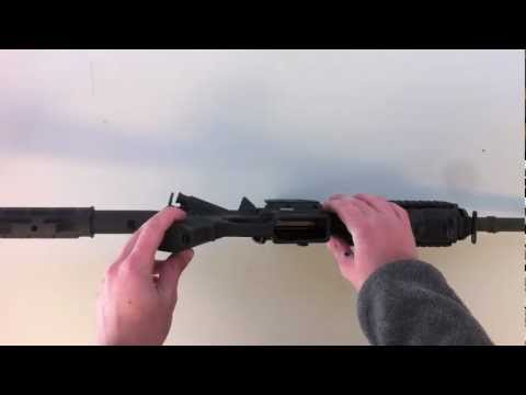 Bushmaster AR-15 M4 take down - Disassembly