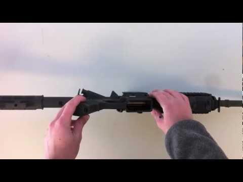 Bushmaster AR-15 M4 take down - Disassembly