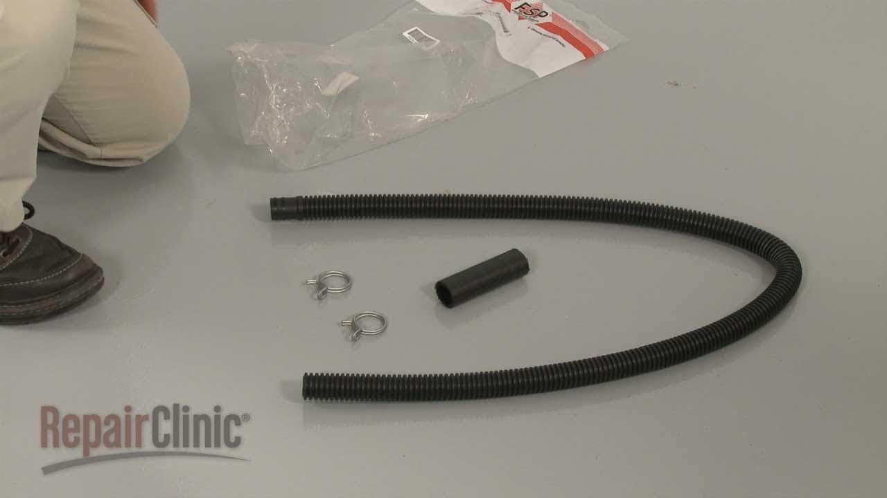 kenmore washing machine drain hose extension