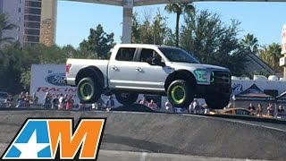 2015 Ford F150 Ultimate Funhaver Drifting & Jumping At
