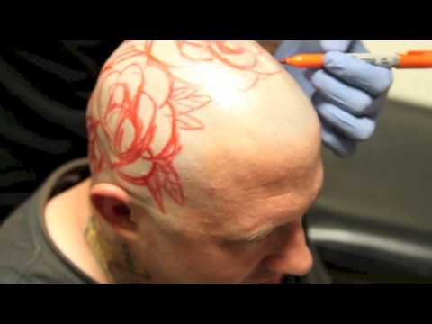 Part 1 kyle giffen tattoos matts head at little pricks for Texas tattoo license