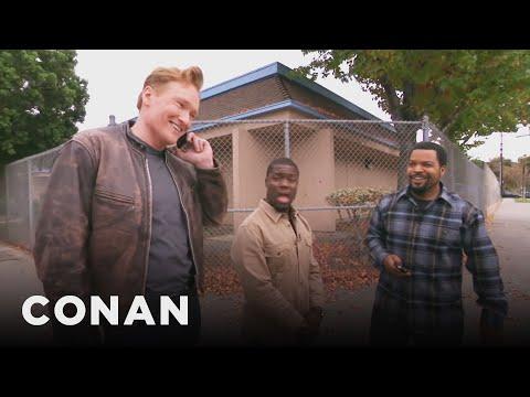 Ice Cube, Kevin Hart, And Conan Share A Lyft Car