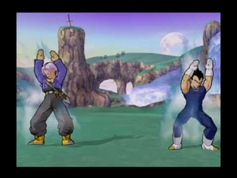 Vegeta and Trunks fusion dance- Request by RandomVids1200