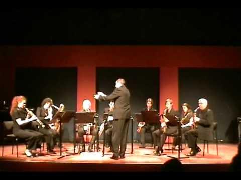 Brabants Saxofoon Ensemble plays Scherzo by Modest Mussorgsky