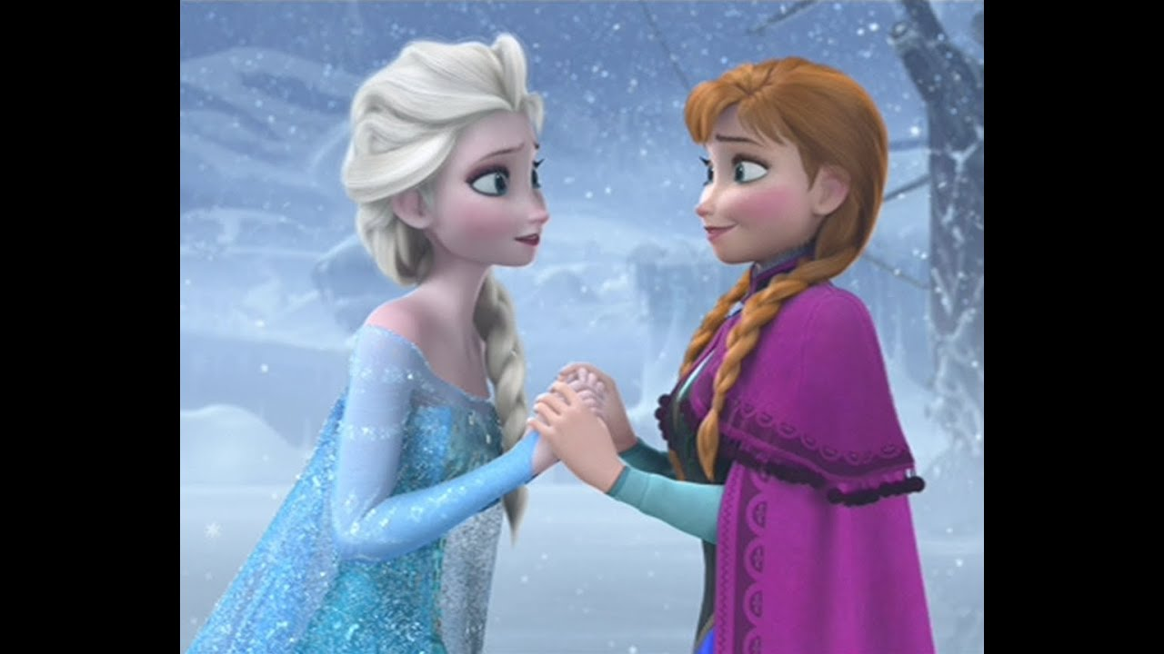 Frozen anna elsa sisters love tribute disney part 1 a thousand years christina perri youtube - Princesse anna et elsa ...