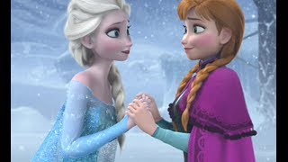 Frozen Anna And Elsa Sisters Love Tribute Disney Part 1