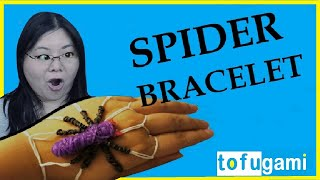 How To Make A Spider Rubber Band Bracelet: No Rainbow Loom