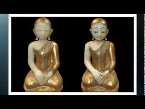 Antique Burmese Collection: Traditional folk arts and ancient Buddha from Burma