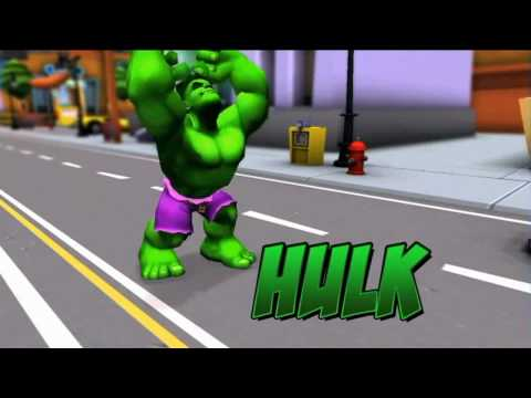 Marvel Super Hero Squad Online - Character Trailer