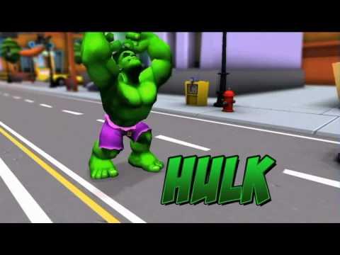 Marvel Super Hero Squad Online - Character Trailer