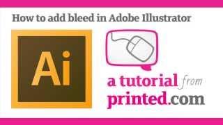 Adobe Illustrator Tutorial Adding Bleed