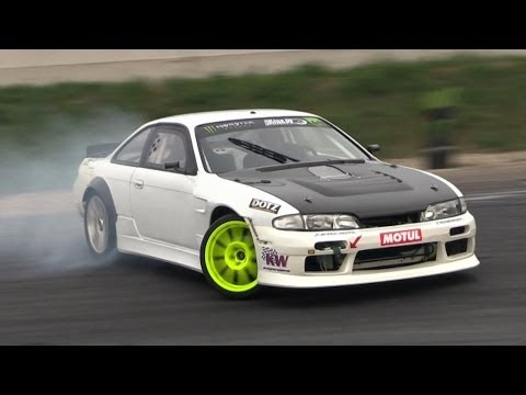 630hp LS3 Powered Nissan Silvia S14 Insane V8 Sound