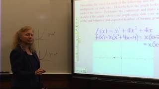 College Algebra: Lecture 15 - Graphing Polynomials
