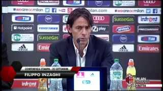 Inzaghi: ''Match importante con l'Empoli'' | AC Milan Official
