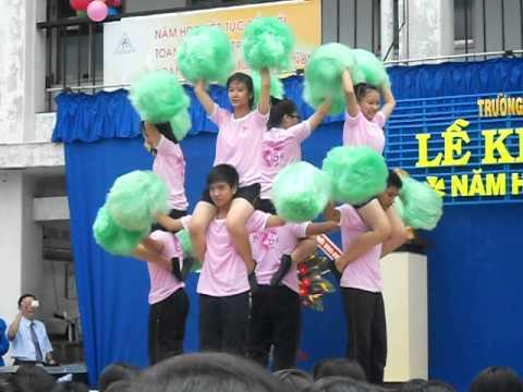 Nhảy cổ động - THPT Nguyễn An Ninh