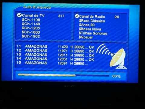 Azamerica S810B configuración por sks o doble antena