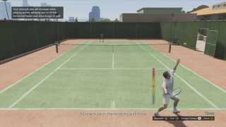 GTA V Playing Some Tennis