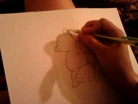Drawing mlp :1 earth pony