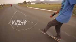 anak-anak Skateboard di Ethiopia jago - jago