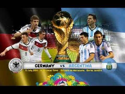 FIFA World Cup Final 2014 Germany v Argentina alternative football commentary Live